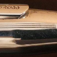 Estilográficas antiguas, bolígrafos y plumas: JUEGO BOLIGRAFO + ROLLER CROSS CLASSIC CENTURY PLATA DE LEY 925. Lote 187227682