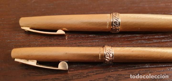 Estilográficas antiguas, bolígrafos y plumas: SHEAFFER BOLIGRAFO Y PLUMA MADE IN USA - Foto 3 - 187229952