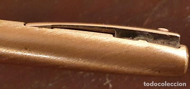 Estilográficas antiguas, bolígrafos y plumas: SHEAFFER IMPERIAL BOLIGRAFO Y PLUMA MADE IN USA CHAPADOS EN ORO - Foto 9 - 187229952