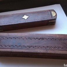 Estilográficas antiguas, bolígrafos y plumas: 2 PLUMIERES ANTIGUOS. Lote 188475833