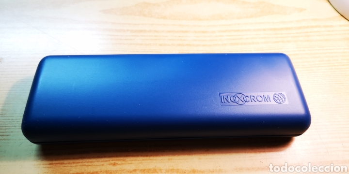 Estilográficas antiguas, bolígrafos y plumas: Mickey unlimited de inoxcrom pluma + bolígrafo + estuche - Foto 5 - 188608442