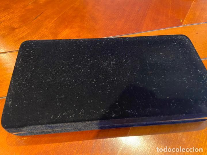 Estilográficas antiguas, bolígrafos y plumas: PLUMA Y BOLIGRAFO INOXCROM MODELO MARBELLA SERIE 77/MO - Foto 4 - 192075560