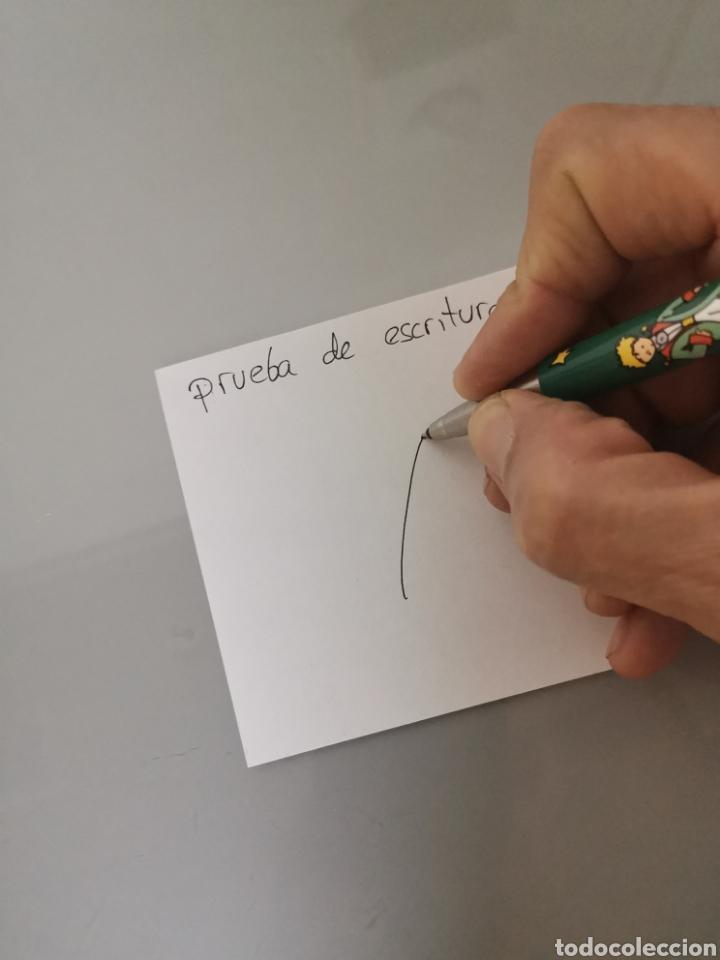 Estilográficas antiguas, bolígrafos y plumas: ESTUCHE PARKER VECTOR EDICIÓN ESPECIAL LE PETIT PRINCE ROLLER 1995 - Foto 4 - 206266077