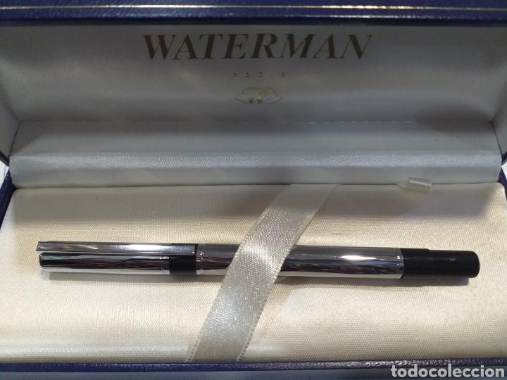 ROLLER WATERMAN ACERO AÑOS70 (Plumas Estilográficas, Bolígrafos y Plumillas - Juegos y Conjuntos)