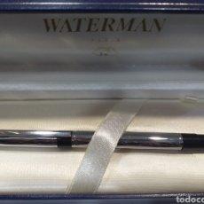 Estilográficas antiguas, bolígrafos y plumas: ROLLER WATERMAN ACERO AÑOS70. Lote 194379680
