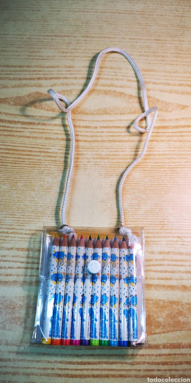 Estilográficas antiguas, bolígrafos y plumas: Gotigoti estuche de 10 lapices de colores a estrenar - Foto 3 - 194629948