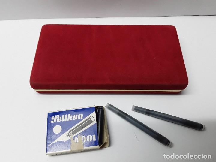 Estilográficas antiguas, bolígrafos y plumas: BOLÍGRAFO Y PLUMA INOXCROM - Foto 2 - 194766762