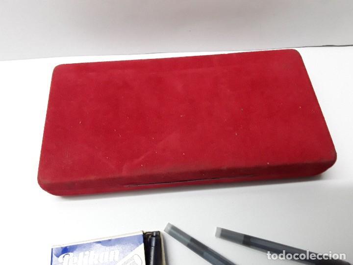 Estilográficas antiguas, bolígrafos y plumas: BOLÍGRAFO Y PLUMA INOXCROM - Foto 3 - 194766762