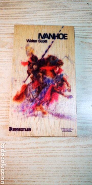 Estilográficas antiguas, bolígrafos y plumas: Estuche plumier de madera Staedtler a estrenar - Foto 2 - 195054820