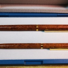 Estilográficas antiguas, bolígrafos y plumas: BEL BOL BOLÍGRAFO Y PLUMA A ESTRENAR. Lote 195134312