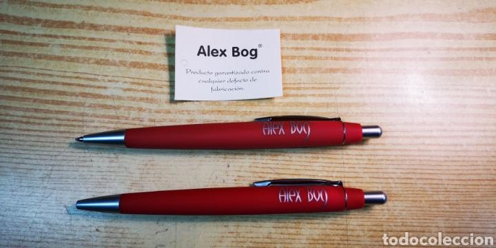 Estilográficas antiguas, bolígrafos y plumas: Portaminas y bolígrafo Alex bog con caja original a estrenar - Foto 2 - 195336668