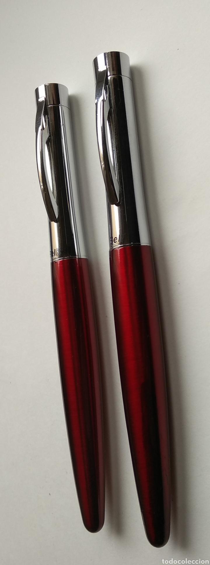 Estilográficas antiguas, bolígrafos y plumas: Pluma y bolígrafo BEL BOL - Foto 3 - 195378048