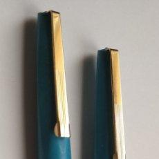 Estilográficas antiguas, bolígrafos y plumas: PLUMA Y BOLÍGRAFO. Lote 195653100