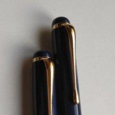 Estilográficas antiguas, bolígrafos y plumas: PLUMA Y BOLÍGRAFO. Lote 195653402