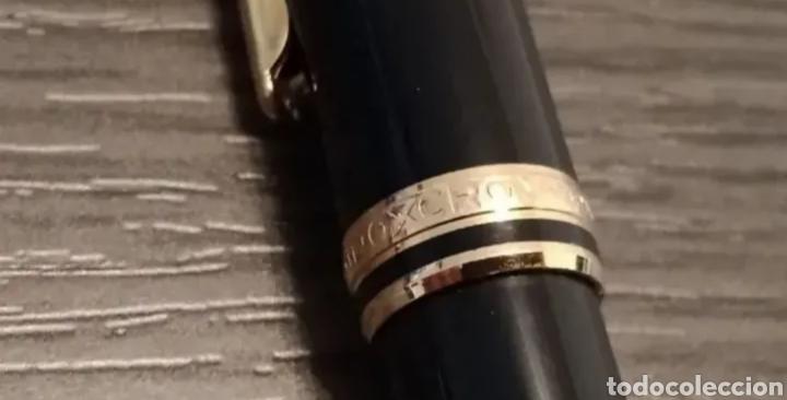 Estilográficas antiguas, bolígrafos y plumas: Antiguo Conjunto Bolígrafo y Portaminas INOXCROM CARAVEL - Foto 6 - 280125213