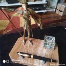Estilográficas antiguas, bolígrafos y plumas: TINTERO D. QUIJOTE. Lote 106933223