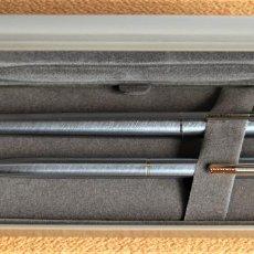 Estilográficas antiguas, bolígrafos y plumas: CONJUNTO DE DOS BOLIGRAFOS SHEAFFER MODELO AGIO. POCO USUAL. Lote 199970575