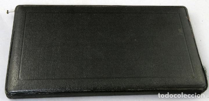 Estilográficas antiguas, bolígrafos y plumas: Estuche completo de compás compases EO Richter Precision primera mitad del siglo XX - Foto 9 - 201617816