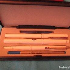 Estilográficas antiguas, bolígrafos y plumas: JUEGO PAPER MATE. Lote 204506090