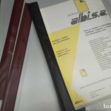 Estilográficas antiguas, bolígrafos y plumas: 200 ANTIGUOS DOSSIERES TRANSPARENTES - FÉSTENER - LOS DE LAS FOTOS. Lote 206217887