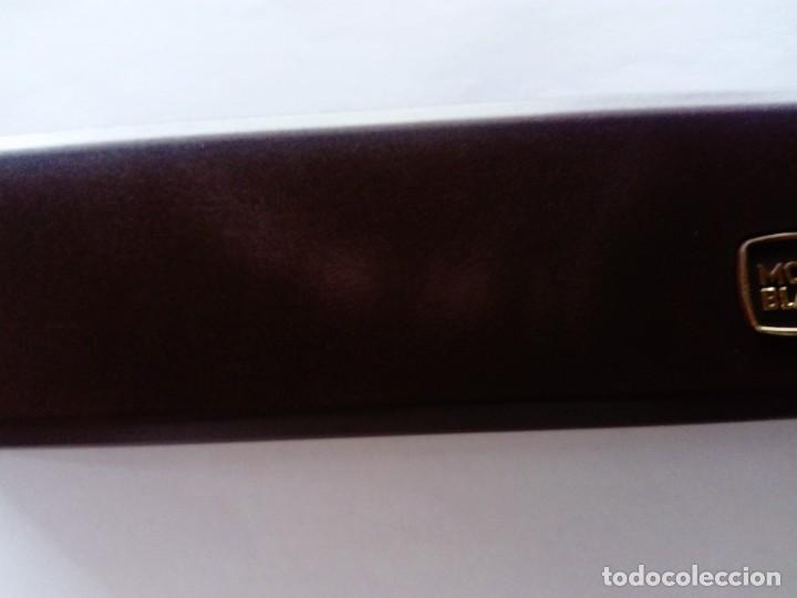 Estilográficas antiguas, bolígrafos y plumas: Caja Montblanc - Foto 7 - 223890686
