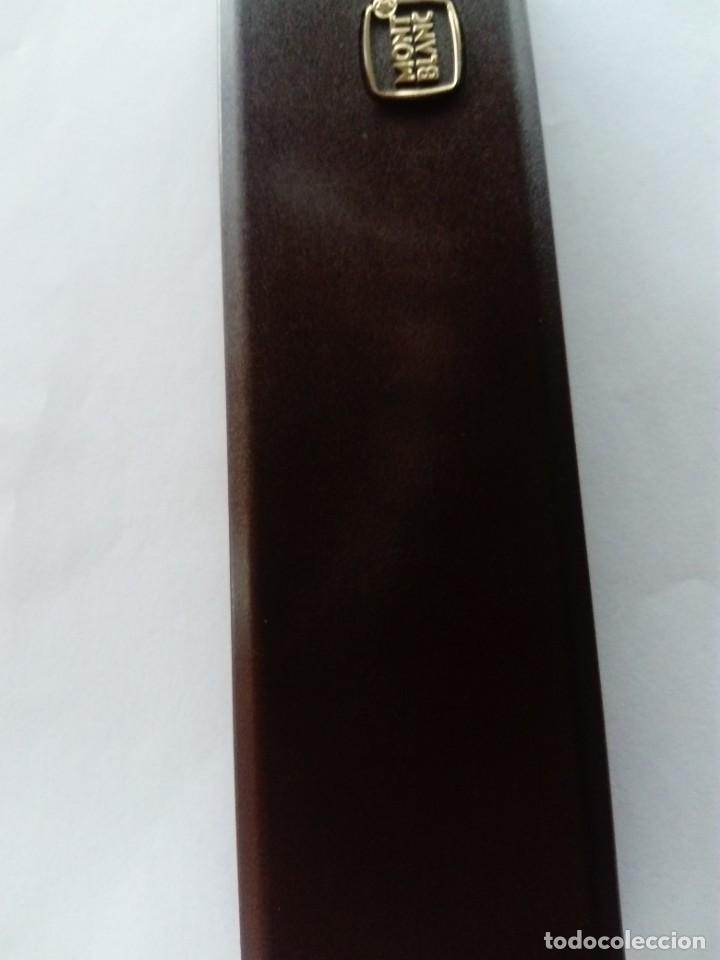 Estilográficas antiguas, bolígrafos y plumas: Caja Montblanc - Foto 8 - 223890686