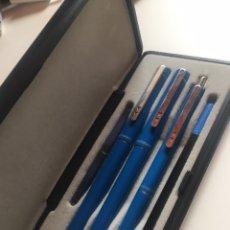 Canetas de tinta permanente antigas, esferográficas e plumas: JUEGO 3 PIEZAS PAPER MATE. Lote 208380528