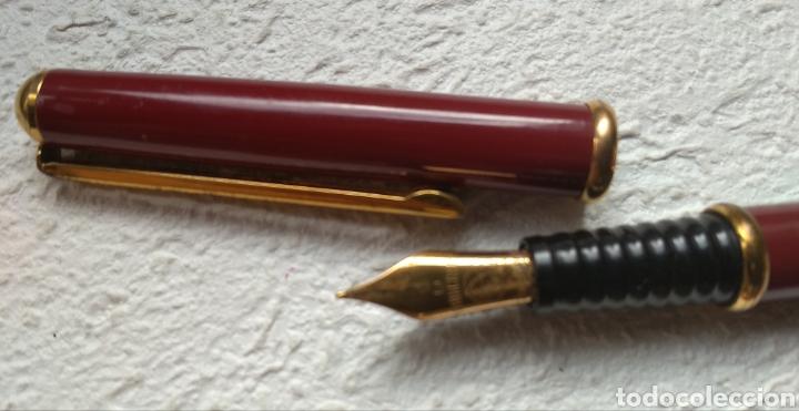 Estilográficas antiguas, bolígrafos y plumas: Pluma y bolígrafo INOXCROM - Foto 2 - 208659291