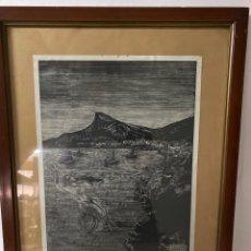 Estilográficas antiguas, bolígrafos y plumas: C-991. LITOGRAFIA FIRMADA Y NUMERADA.CANTO. S.XX.. Lote 208839291