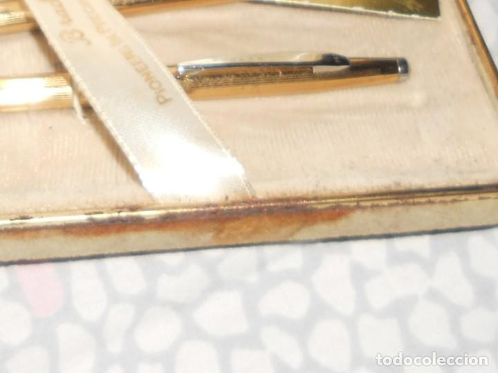 Estilográficas antiguas, bolígrafos y plumas: JUEGO DE BOLIGRAFO Y PORTAMINAS BRADLEY EN SU CAJA ORIGINAL . U. S. A. CHAPADO DE ORO . - Foto 15 - 29466235