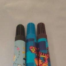 Estilográficas antiguas, bolígrafos y plumas: 3 ROTULADORES DISNEY 2005. Lote 211430324