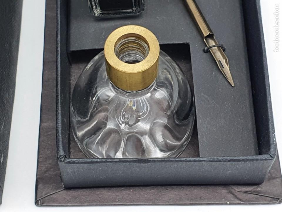 Estilográficas antiguas, bolígrafos y plumas: JUEGO ESCRITURA ( NUEVO ) - Foto 3 - 211469179