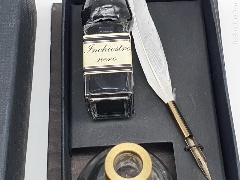 Estilográficas antiguas, bolígrafos y plumas: JUEGO ESCRITURA ( NUEVO ) - Foto 4 - 211469179