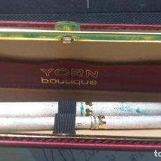 Estilográficas antiguas, bolígrafos y plumas: ANTIGUO SET BOLIGRAFO + ESTILOGRÁFICA YORN BOUTIQUE VER FOTOS. Lote 212507848