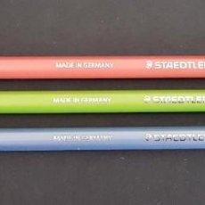 Stilografiche antiche, penne a sfera e penne: STAEDTLER WOPEX LOTE DE 3 LAPICES HB 2B 2H. Lote 213255938