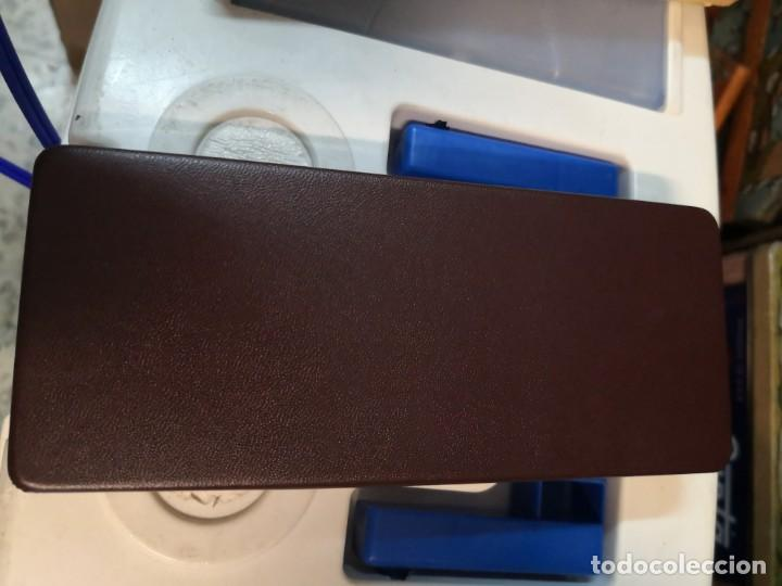Estilográficas antiguas, bolígrafos y plumas: Juego conjunto CROSS -SET DE BOLIGRAFO Y LAPICERO -10 Kt. ROLLED GOLD. Escriben - Foto 5 - 213324107