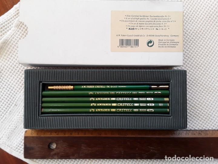 Estilográficas antiguas, bolígrafos y plumas: CAJA VINTAGE LÁPICES GRAF VON FABER CASTELL AÑOS 70 - Foto 3 - 213703418