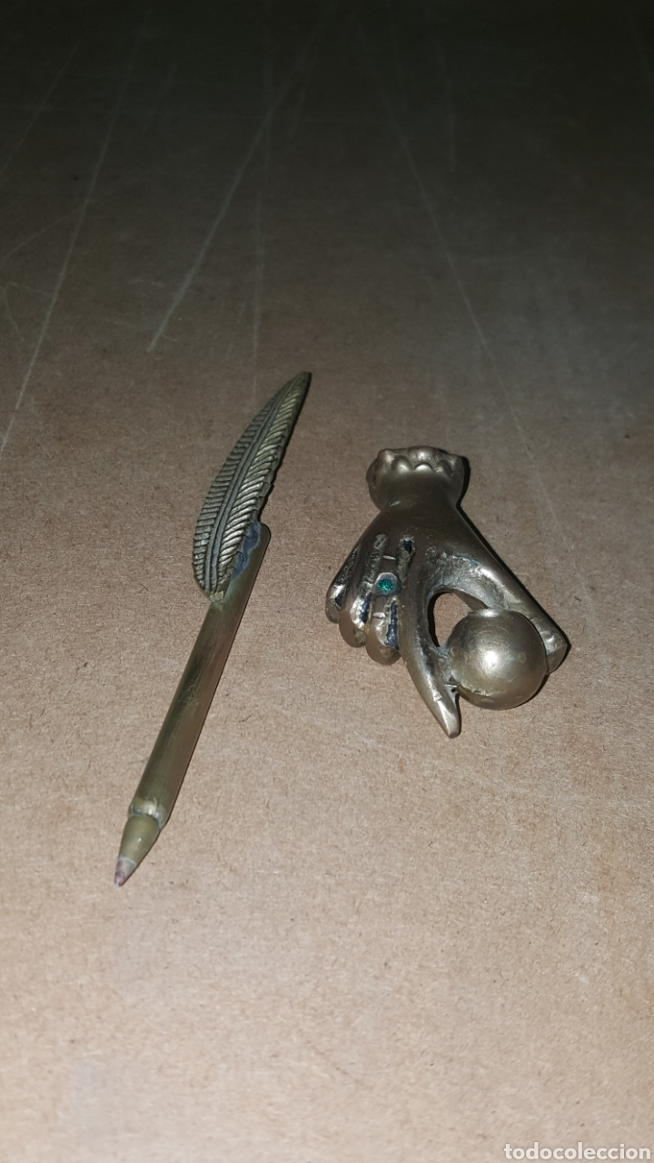 Estilográficas antiguas, bolígrafos y plumas: Porta plumas - Foto 2 - 214297606