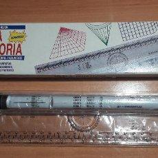 Estilográficas antiguas, bolígrafos y plumas: 12-00049 REGLA GIRATORIA. Lote 220677641