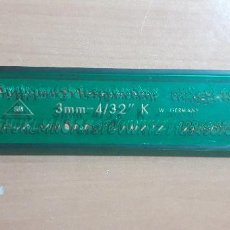 Estilográficas antiguas, bolígrafos y plumas: 12-00068 PLANTILLA ROTULACION LETRAS SUN 3MM- 432 K. Lote 220688012
