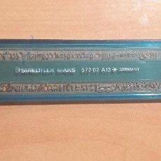 Estilográficas antiguas, bolígrafos y plumas: 12-00071 PLANTILLA ROTULACION LETRAS STAEDTLER MARS 572 02 A13. Lote 220688407