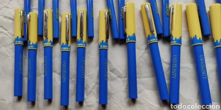 Estilográficas antiguas, bolígrafos y plumas: Lote de 36 plumas estilograficas y 17 bolígrafos- - Foto 4 - 221770007