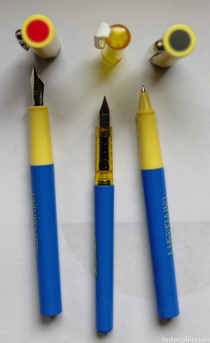 Estilográficas antiguas, bolígrafos y plumas: Lote de 36 plumas estilograficas y 17 bolígrafos- - Foto 10 - 221770007