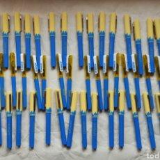 Estilográficas antiguas, bolígrafos y plumas: LOTE DE 36 PLUMAS ESTILOGRAFICAS Y 17 BOLÍGRAFOS-. Lote 221770007