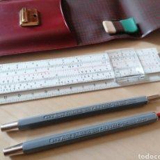 Estilográficas antiguas, bolígrafos y plumas: ANTIGUO ESTUCHE CONJUNTO FABER CASTELL. Lote 222137137