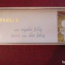 Estilográficas antiguas, bolígrafos y plumas: PARKER: ESTUCHE VACIO DE PRIMERA COMUNION. Lote 224991666