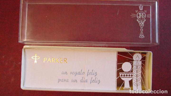 Estilográficas antiguas, bolígrafos y plumas: PARKER: ESTUCHE VACIO DE PRIMERA COMUNION - Foto 2 - 224991666