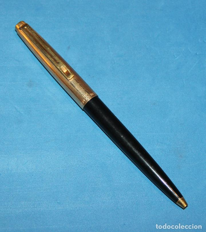 Estilográficas antiguas, bolígrafos y plumas: PLUMA ESTILOGRAFICA Y BOLIGRAFO INOXCROM 88 ORO - NUEVOS - Foto 10 - 226103195