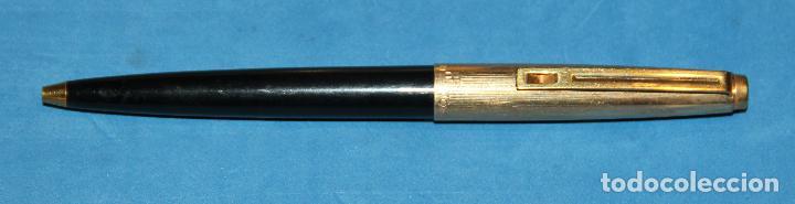 Estilográficas antiguas, bolígrafos y plumas: PLUMA ESTILOGRAFICA Y BOLIGRAFO INOXCROM 88 ORO - NUEVOS - Foto 12 - 226103195