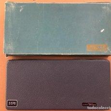Estilográficas antiguas, bolígrafos y plumas: ESTUCHE DE COMPASES PARA INGENIERIA. MODELO SUPER STILUS 570 INGENIERO .. Lote 228197965